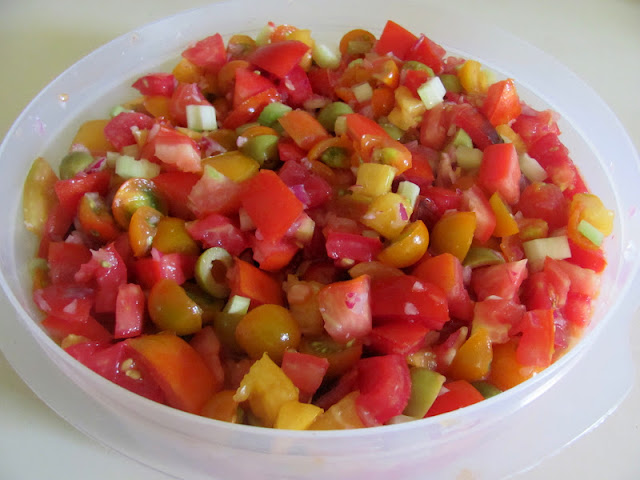 Bloody Mary Tomato Salad – Sweet Domesticity