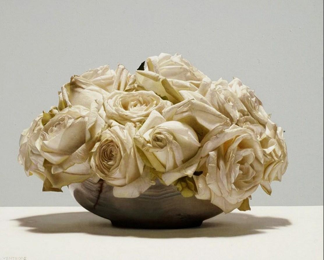 Cuadros modernos ramo de flores rojas y blancas i car - Ramos de flores modernos ...