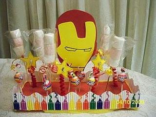Centros de Mesa con Iron Man, parte 1