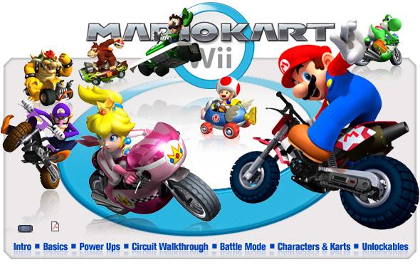 Mario Kart Wii Es El To Videojuego De La Serie Mario Kart Sin