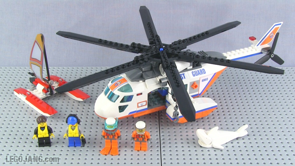 Lego Coast Guard Helicopter Set 60013 Review