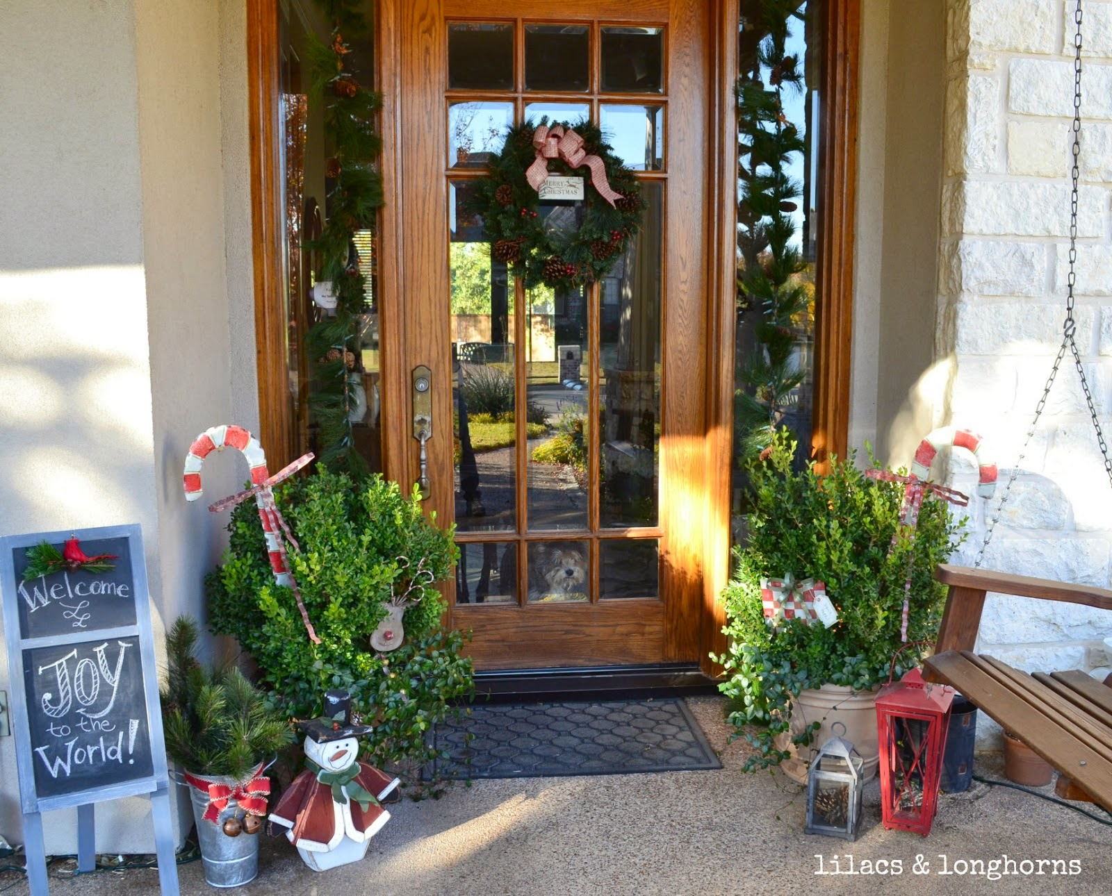 Christmas Front Porch Decorating Ideas Instant Knowledge