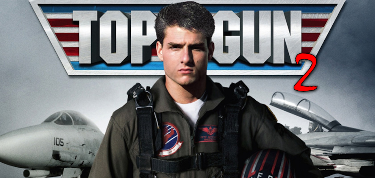 Tom Cruise in Top Gun 2