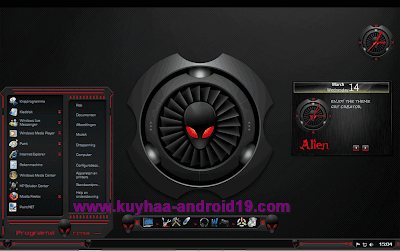  THEME WINDOWS 7 ALIENRED