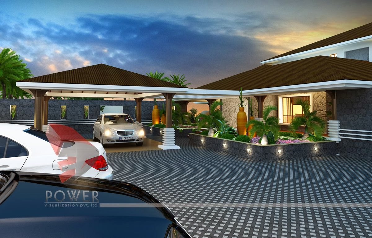 Modern house 3d interior design 3d exterior rendering for Ultra modern house designs uk