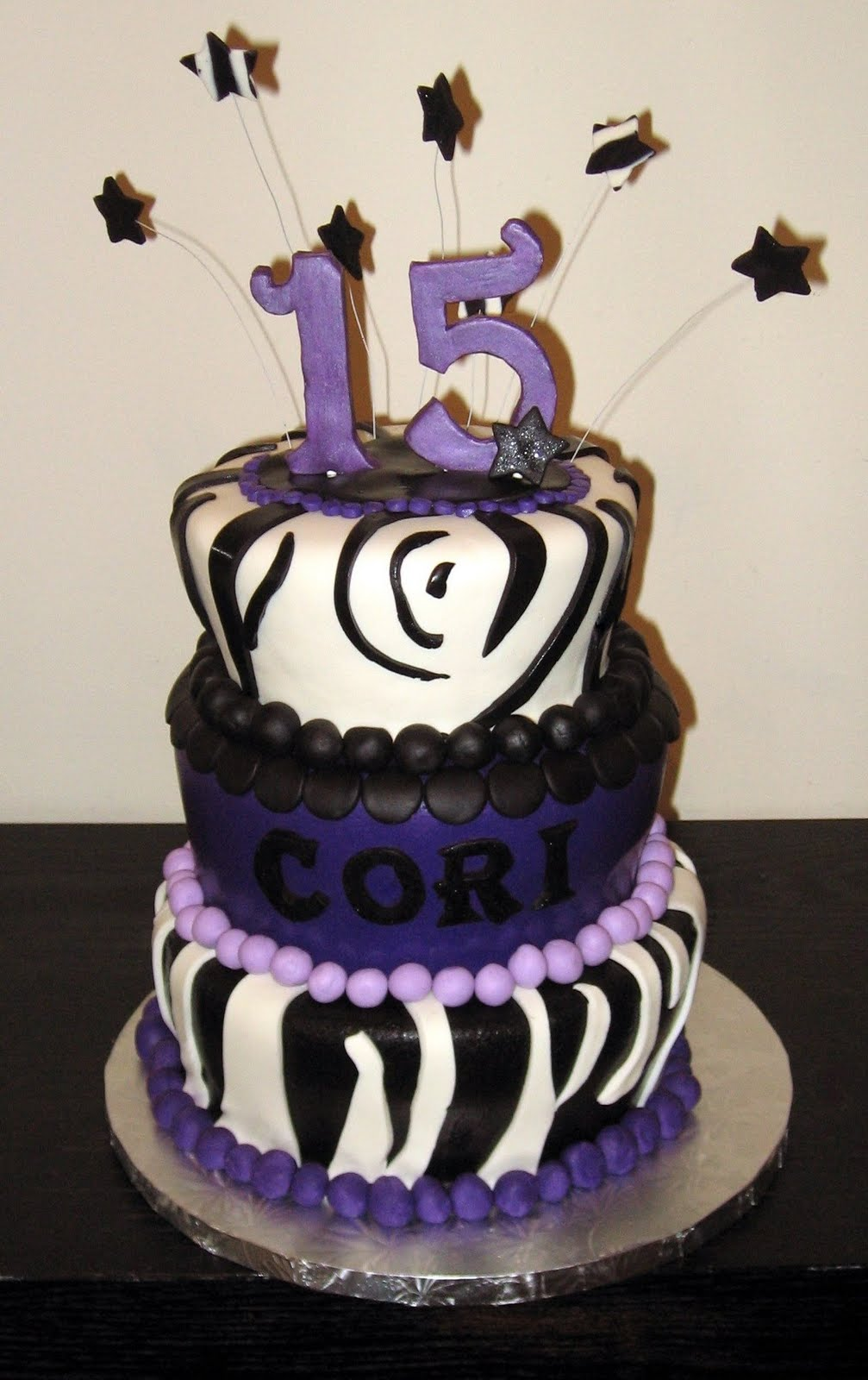 15 year old birthday cakes girls