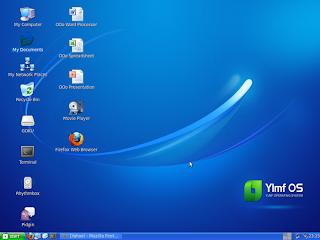 Harga Linux YLMF 3.0 - Bercitarasa XP