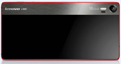 Lenovo Vibe Shot Rear View