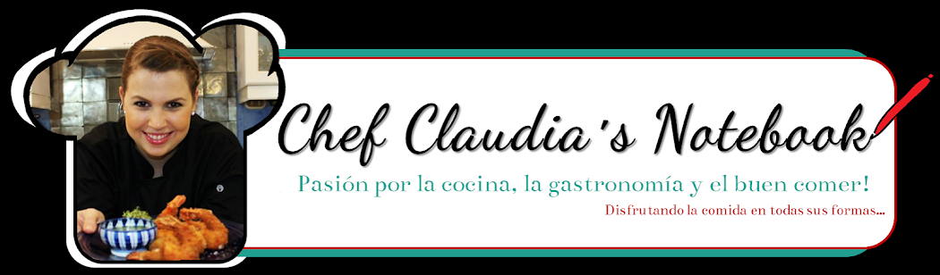 Chef Claudia´s Notebook