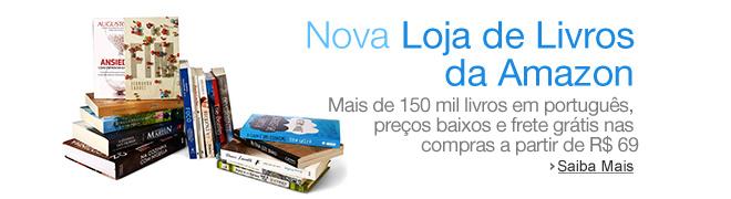 Amazon inicia venda de livros impressos no Brasil