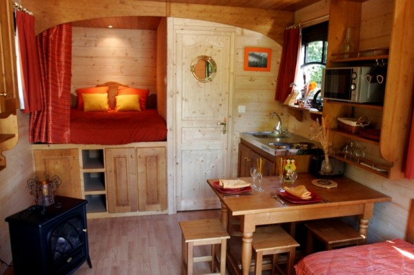 July 2011 for Interior caravan designs