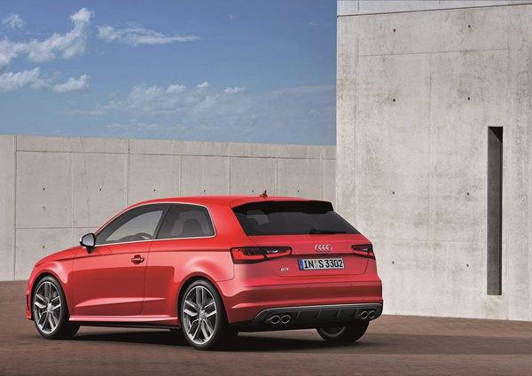 новый Audi S3 2013