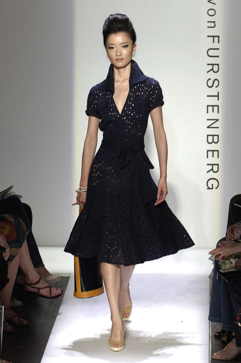 via fashioned by love | Diane von Furstenberg wrap-dress Spring/Summer 2006