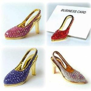 High heels im a lover of all shoes high heeled red high heel red high heel shoe business card holder swarovski crystals 24k gold pump colourmoves
