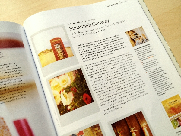Susannah Conway featured in The Simple Things
