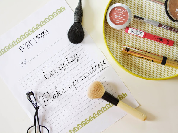 Всекидневна make up routine | Продукти и визия
