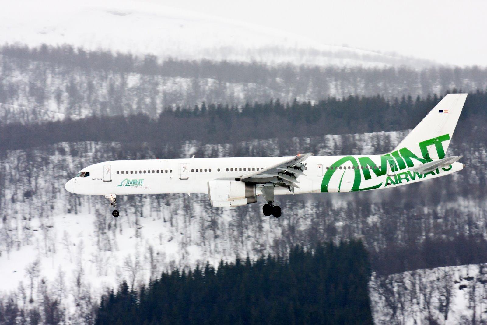 Авиакомпания Минт Эйрвэйз (Mint Airways).2