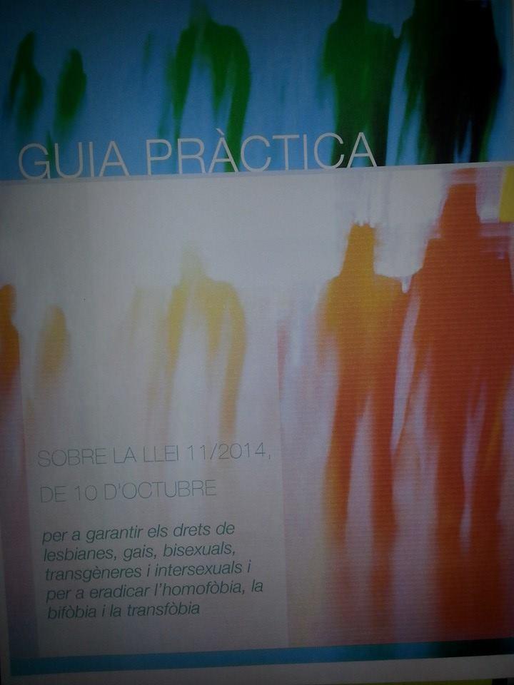 GUIA PRÀCTICA LLEI CONTRA HOMOFÒBIA