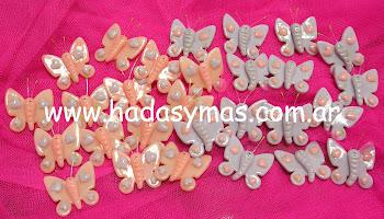 Prendedores de Mariposas para Nenas