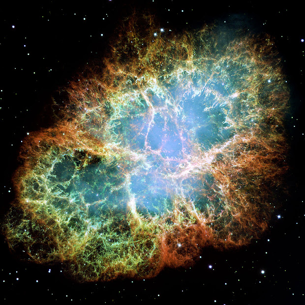 The highest resolution image of the entire Crab Nebula ever made!