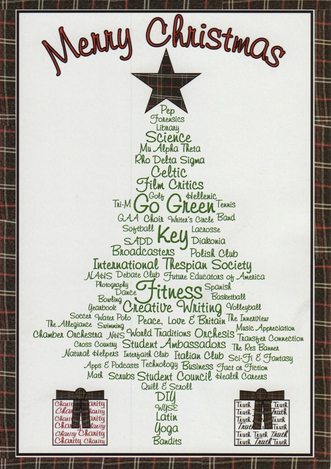 PRESident\'s Blog: Our 2014 Christmas Card