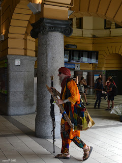 flinders street swami... complete with eyepatch and everything