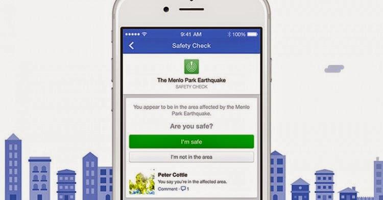 Facebook güvendeyim özelliği