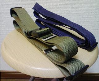 輪行袋のストラップを自作する