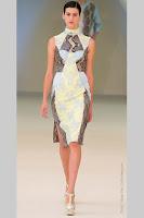 Елегантна рокля пачуърк Еrdem пролет-лято 2013