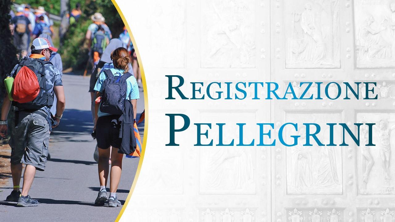 E' pronto il sito per la Registrazione Pellegrini