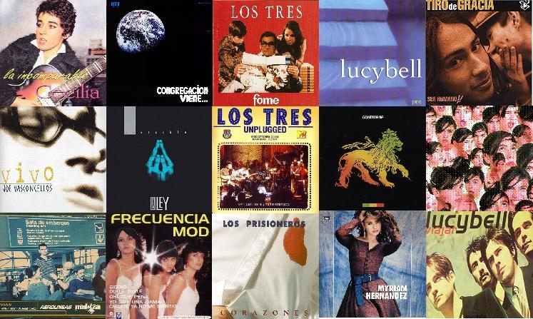 Los 50 Mejores Discos de la Música Popular Chilena