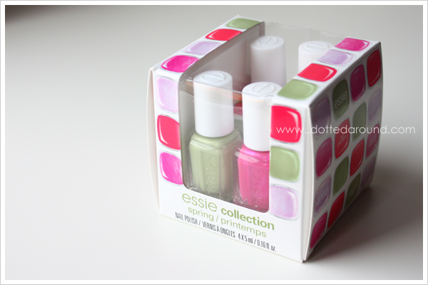 Essie Spring 2012 Navigate Her collection mini set