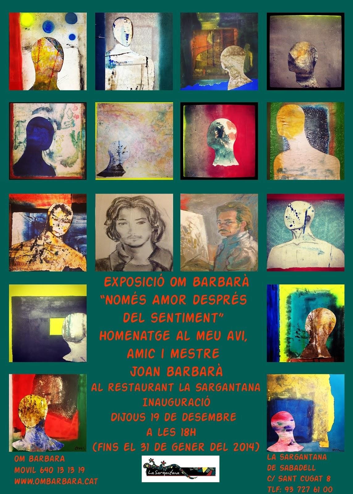 Inauguració expo Homenatge Joan Barbarà