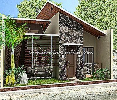Rumah Unik Minimalis Design Desain Gambar