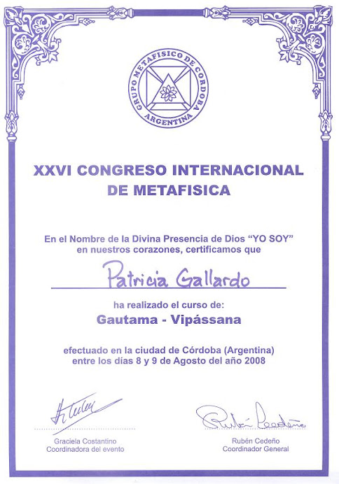 XXVI Congreso Internacional de Metafsica
