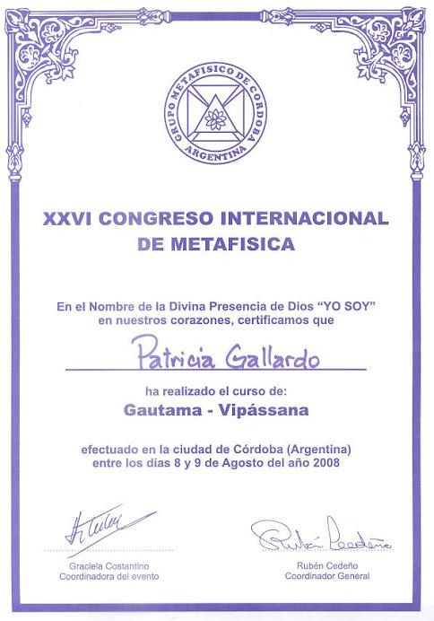 XXVI Congreso Internacional de Metafísica