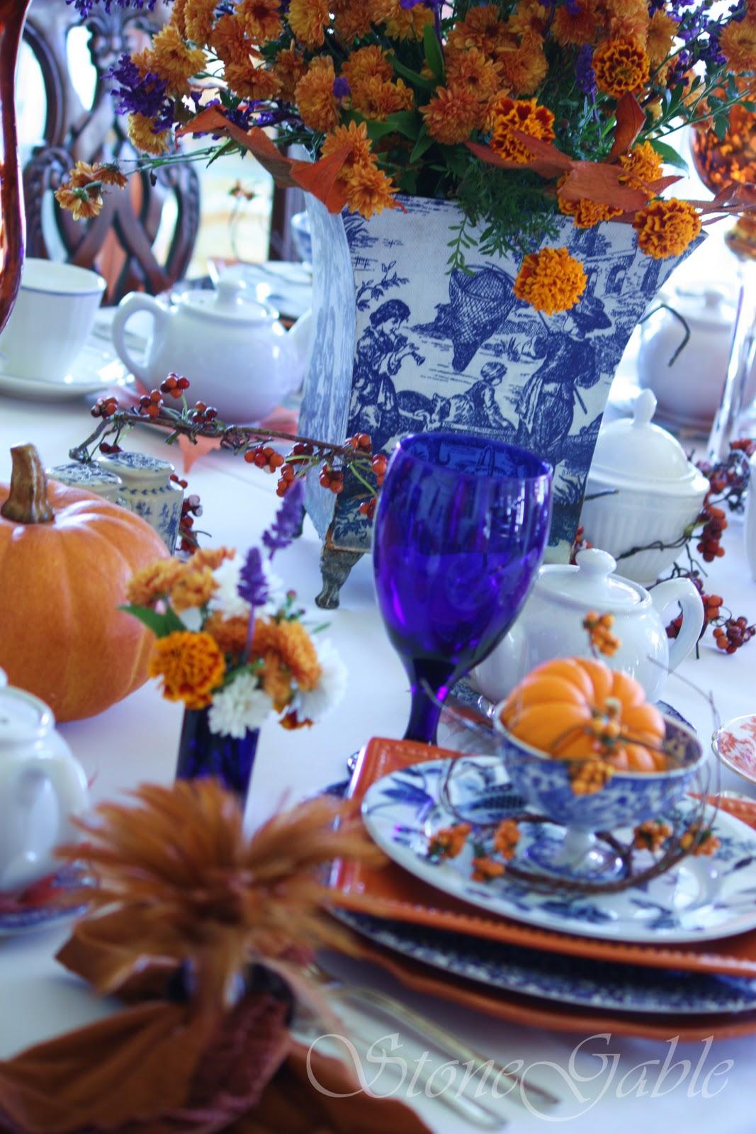 Autumn High Tea - StoneGable