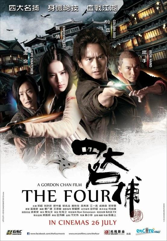 Efsane Dörtlü - The Four 2012 Türkçe Dublaj Tek Link Film İndir