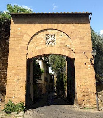 The Porta di San Giorgio in Florence