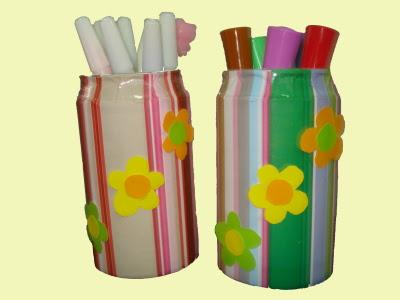 Contoh-contoh kerajinan dari botol bekas, silahkan anda mencoba