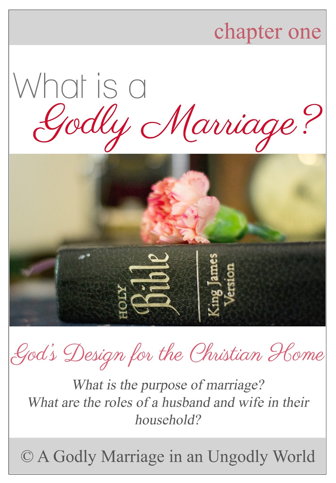 What is the role of a christian wife