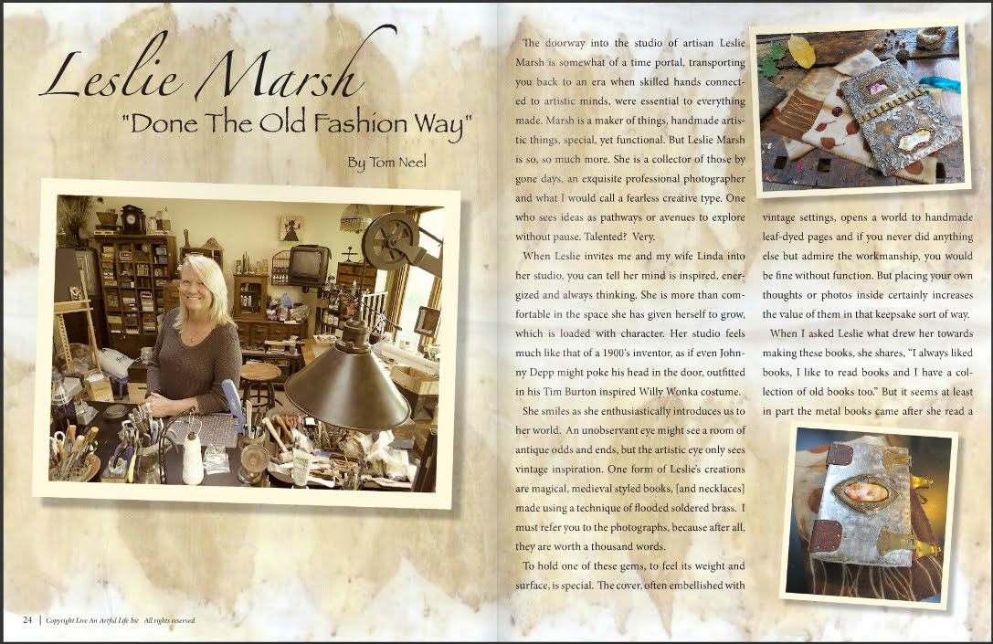 Interview with Life and Artful Life Magazine