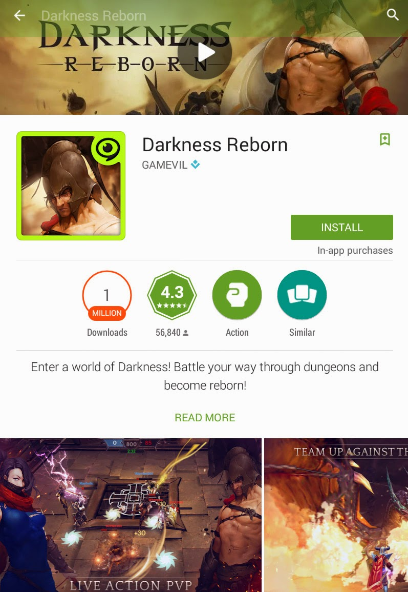 [FREE GAME] [Android] Darkness Reborn
