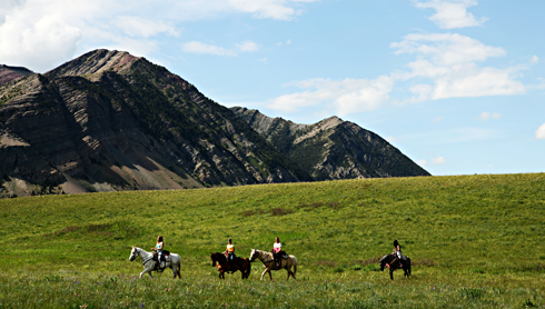 horseback riding waterton alberta travel photography series