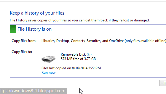 file history di windows 8.1