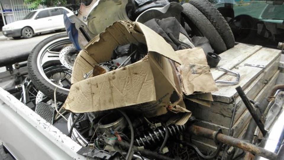 Allanamientos en Ushuaia por robos de motos