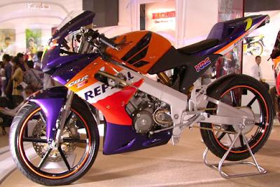 Modifikasi Honda CBR 150 Terbaru