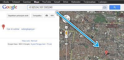 Nomor Lokasi Google Maps