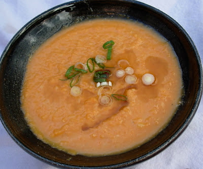 From Kirsten's Kitchen to Yours: Carrot Soup with Miso and Sesame