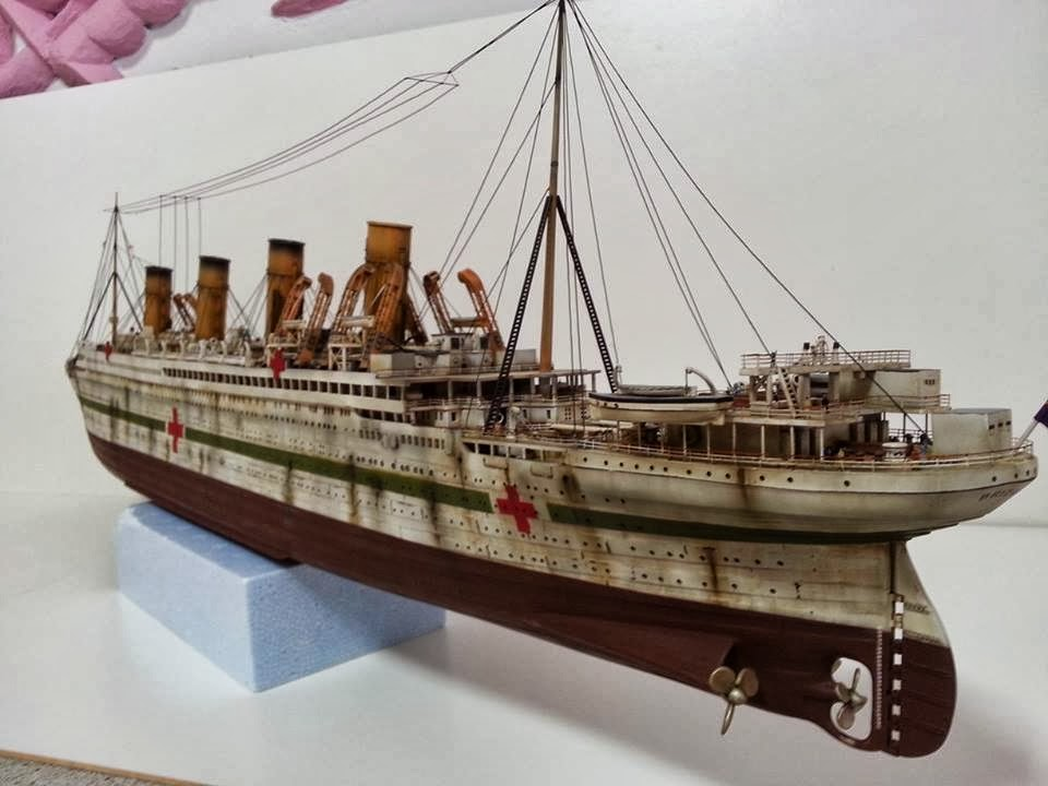 minicraft titanic 1 350 instructions